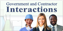 Government and Contractor Interactions