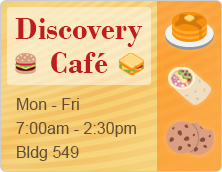 Discovery Cafe has online ordering