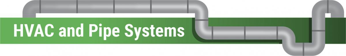 Header graphic: HVAC and Pipe Systems
