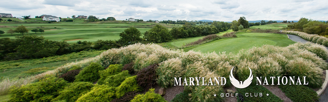 Maryland National golf course promo photo.