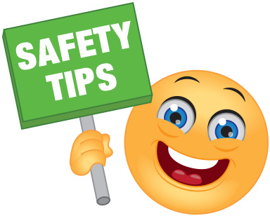 Safety tips banner