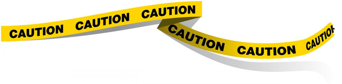Image of caution tape