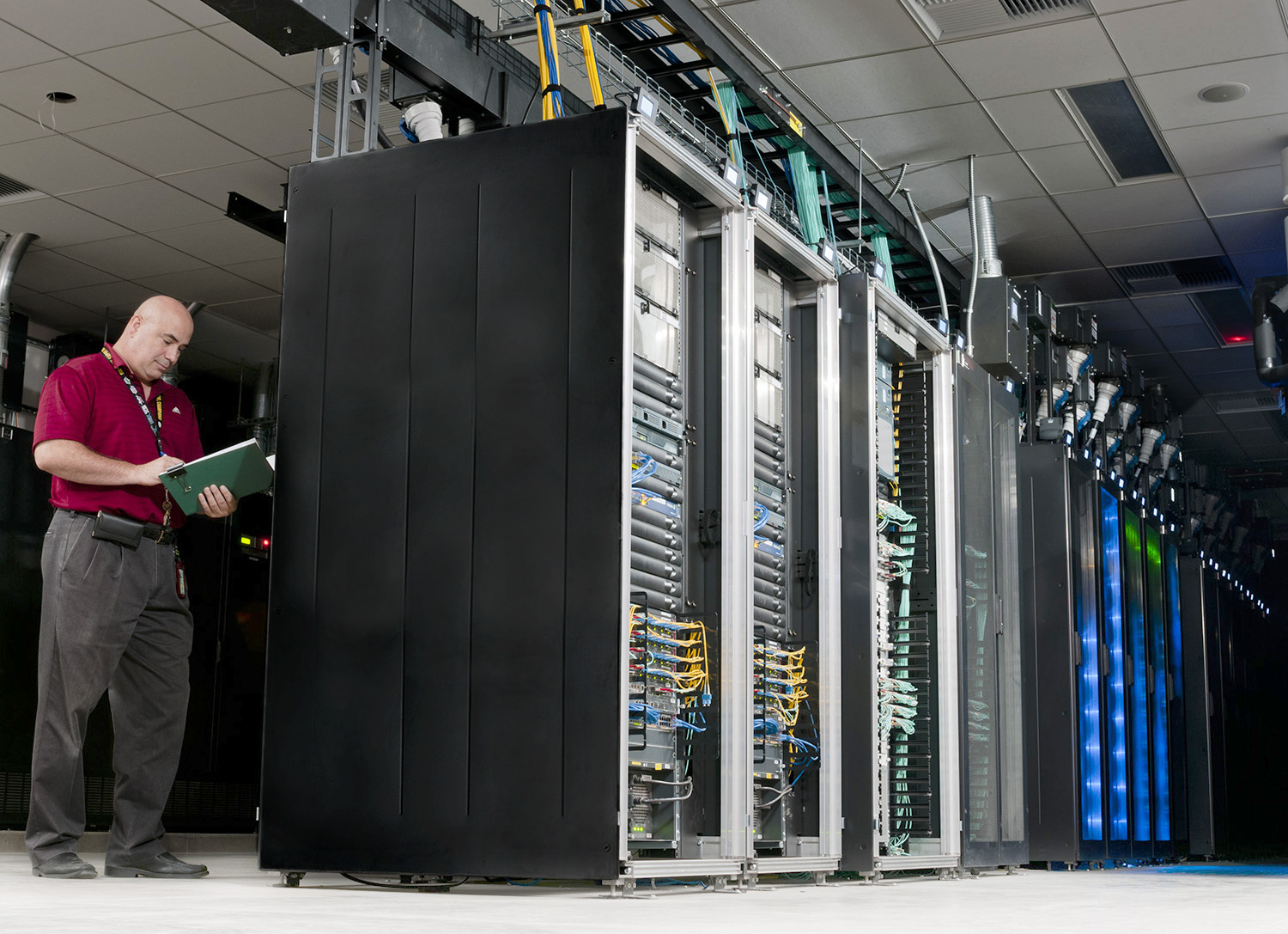 Water Cooled Data Center Packs More Power Per Rack Poster