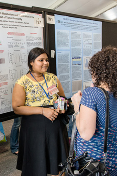 Scientific poster presentations and exhibits were part of the Spring Research Festival.