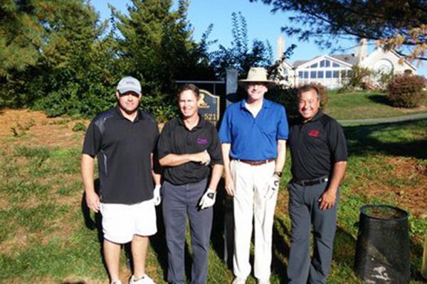 From left: Troy Taylor, Dan Soppet, Henry Ciolino, and Greg Lockhart