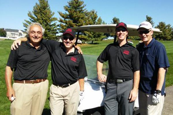 From left: Rick Bedigian, Barry O'Keefe, Scott Keasey, and Larry Sternberg