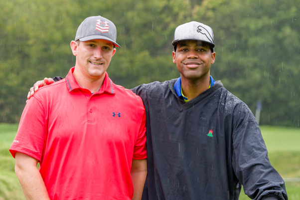 Team Straight Shooters (left to right): Mark Joyce and Carl Prather, Jr.