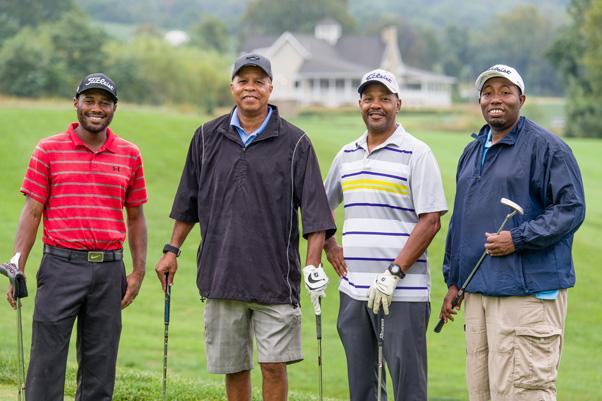 Team Electric Company (left to right): Jason Bowens, Joseph Stephenson, Larry Wongus, and Ron Curington.