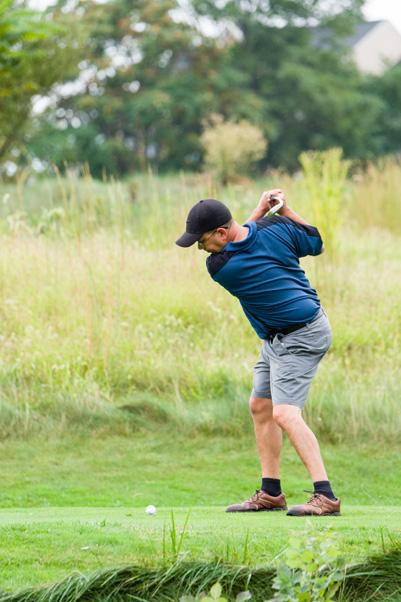 Ed Gauvreau takes a swing.