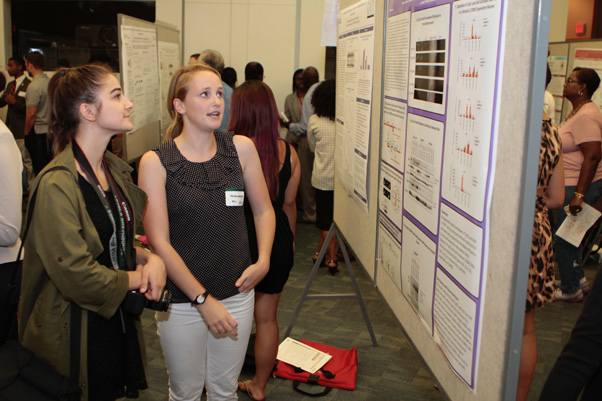 Student Poster Day at the NIH main campus in Bethesda, MD.