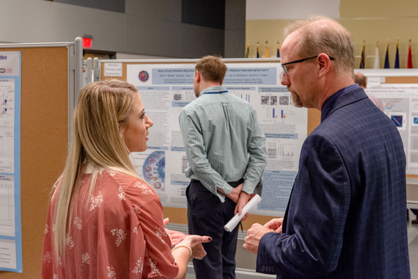 2018 Spring Research Festival scientific poster presentations.