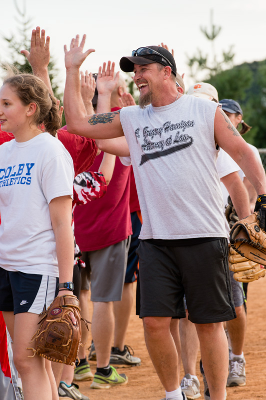 NCI and Leidos Biomed Slow-Pitch Softball Games, 2015