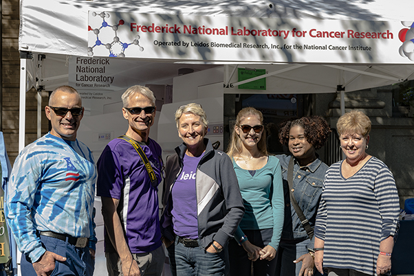 Left to right: Jim Pannucci (FNLCR), Frank Blanchard (FNLCR), Joy Beveridge (FNLCR), Madison Reeley (WHK Student Intern), Natasha Williams (FNLCR), and Nora Deluca (FNLCR)