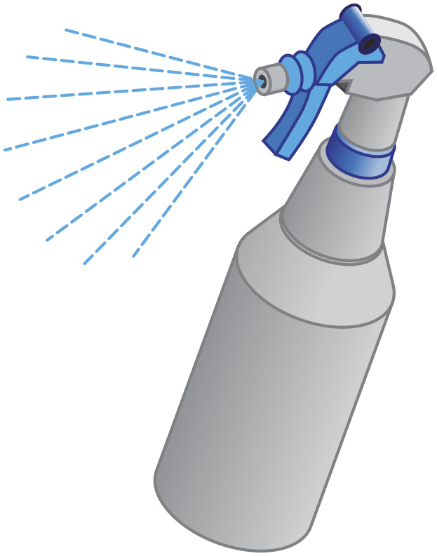Image of a spray bottle