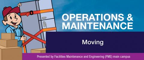 Operations and Maintenance January Newsletter: Moving