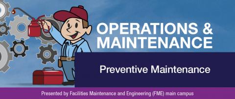 Operations and Maintenance July newsletter banner