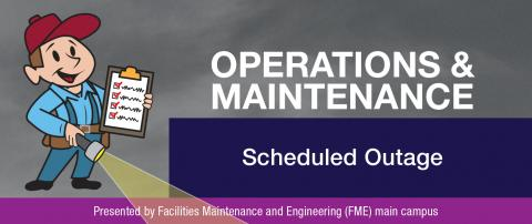 Operations and Maintenance August newsletter banner