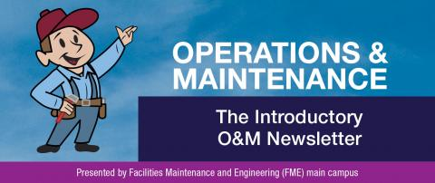 Operations and Maintenance newsletter banner image