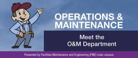 Operations and Maintenance October Newsletter: Meet the O&M Department