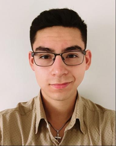 Occupational Health Services intern Esteban Garcia