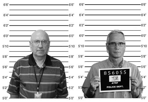 Two men's mug shots.