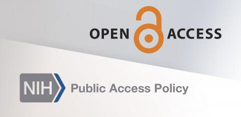 NIH and Open Access logos