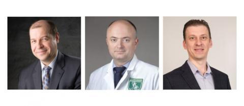 Photos of Serguei Kozlov, Udo Rudloff, and Tomas Vilimas