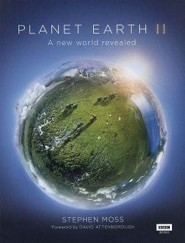 Title poster for BBC's documentary, Planet Earth II