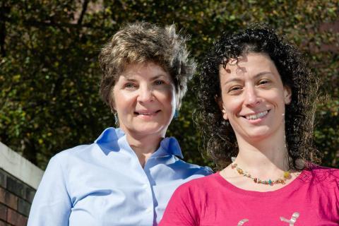Elena Chertova and Cristina Bergamaschi