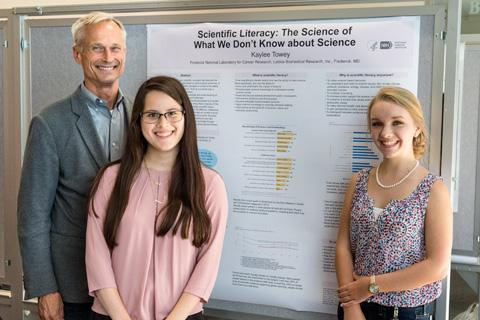 Scientific Library poster at Student Poster Day