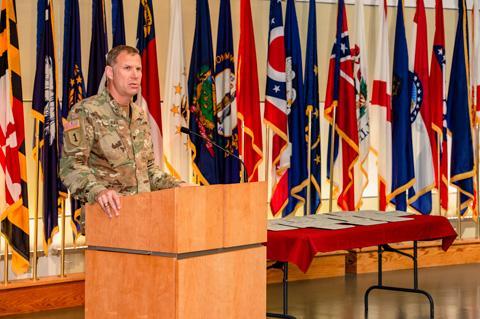Col. Michael Sauer, USAMRMC