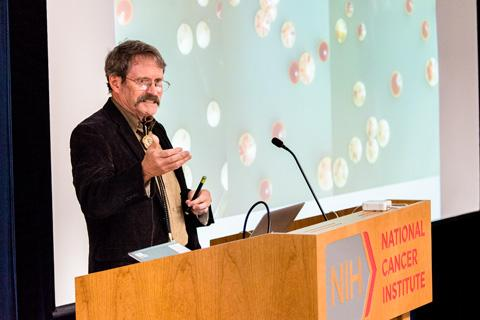 Jeff Strathern giving seminar.