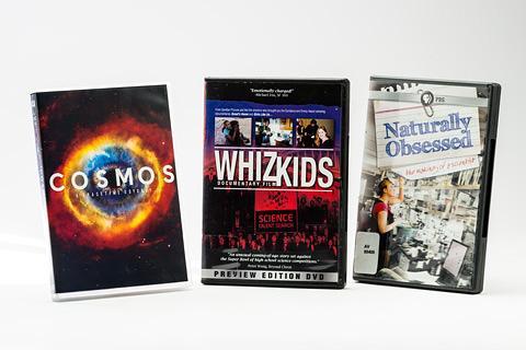 Three DVD covers