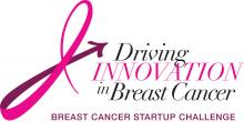 Driving Innovation in Breast Cancer (Breast Cancer Startup Challenge) graphic.