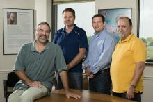 Jeff Lifson, Brandon Keele, Jacob Estes, and Michael Piatak