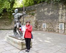 Nadya Tarasova in Nottingham, England